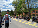 Memorial Day Weekend Photo - Moving Wall - Rainelle School Pictured on Right - Click to Visit